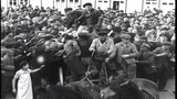 Inmates of a concentration camp try to get food in Mauthausen, Austria during Wor...HD Stock Footage