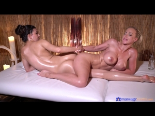 Anya krey & nathaly cherie - blonde pleasures cute romanian girl [lesbian, 1080p]