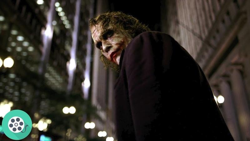 Ловля Джокера Тёмный рыцарь 2008 год