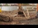 Начало строительства детского сада в Охмыльцево