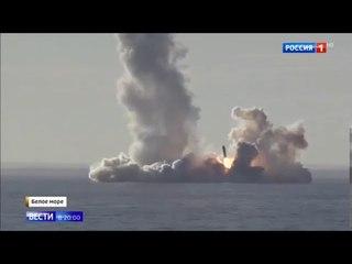 В первые четыре залпа новых ракет БУЛАВА из подводной лотки испытала Россия.