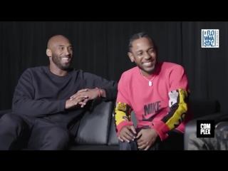Интервью Kendrick Lamar и Kobe Bryant (перевод)