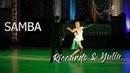 Riccardo Cocchi - Yulia Zagoruychenko   Showdance Samba I Platinum Dancesport Classic 2018
