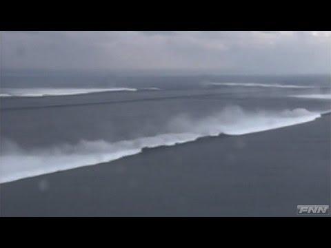 宮城県沿岸部を襲う津波 【陸上自衛隊提供映像】