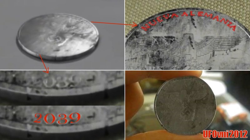 Proof of parallel universe Nazi coin from 2039 sparks bizarre theory