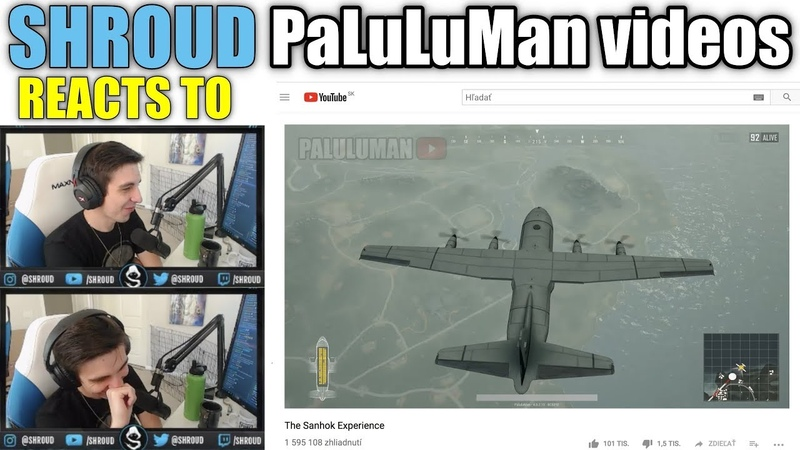 Shroud reacts to FUNNY PaluluMan PUBG videos Sanhok Experience, Unlimited Chicken, SKRRA 101