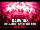 Sepultura Kaiwoas Metal Veins Alive at Rock in Rio feat Les Tambours du Bronx