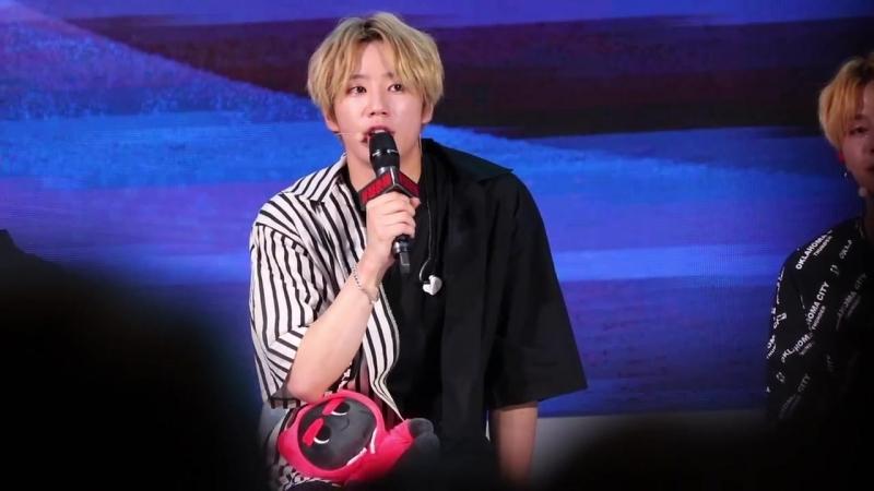 20180914 청춘해 콘서트 UNB(유앤비) JUN(준) FOCUS--TALK