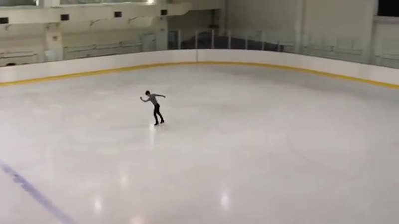 Boyang jin - 金博洋 - ボーヤンジン - 练习中完成的很漂亮的4t3t