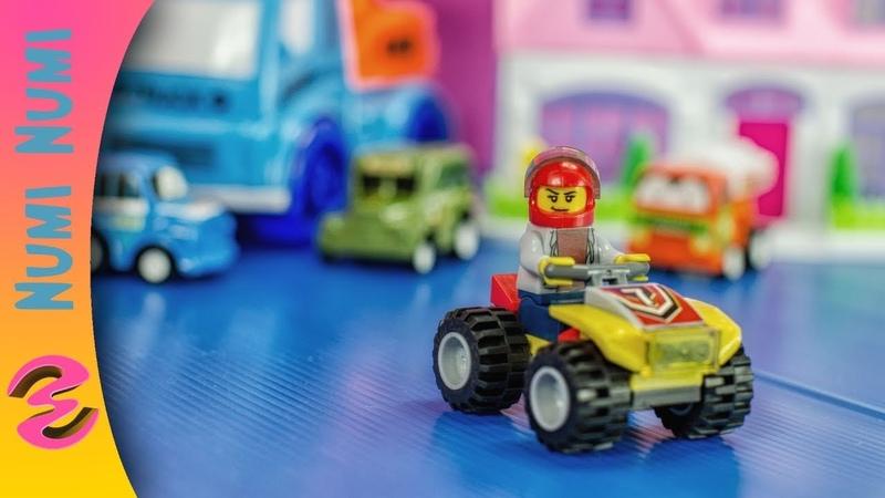 Lego City ATV Race Team Lego Speed Build