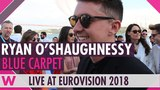 Ryan O'Shaughnessy (Ireland) @ Eurovision 2018 Red Blue Carpet Opening Ceremony
