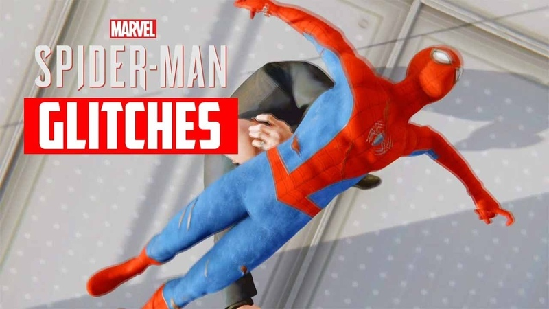 Marvels Spider Man PS4 - Funny Glitches Bugs Compilation