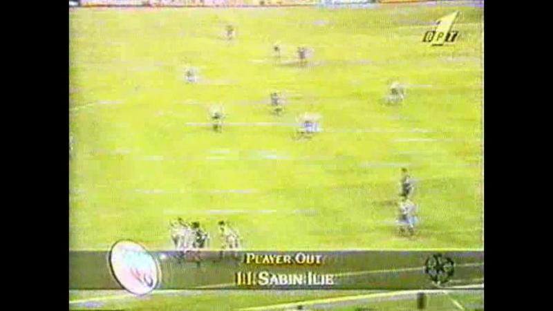 30 CL-1996/1997 Atlético Madrid - Steaua Bucureşti 4:0 (11.09.1996) HL