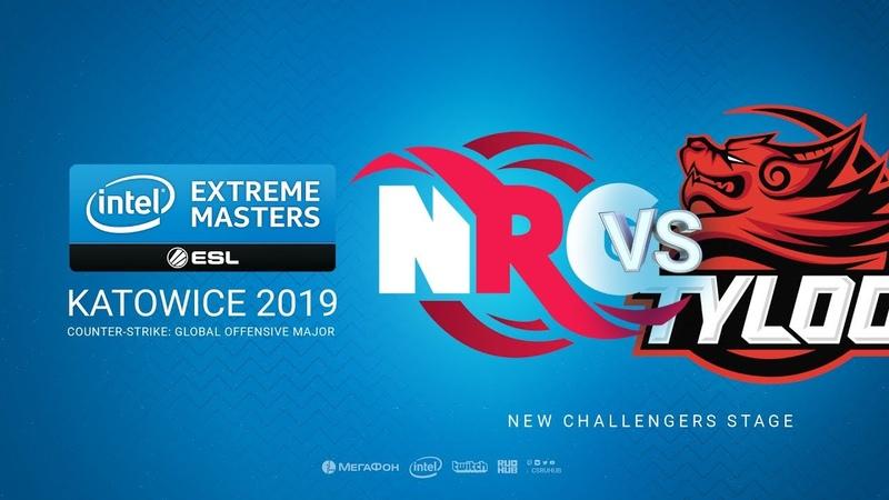 NRG vs TyLoo - IEM Season XIII - Katowice Major 2019 - map2 - de_mirage [TheCraggy Gromjkeee]