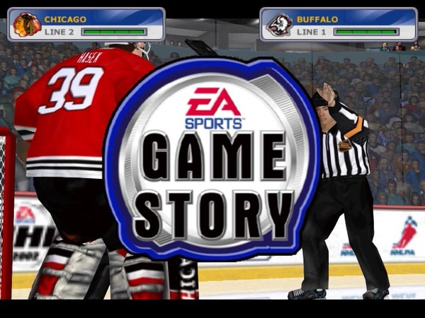 NHL 2002 (PC) gameplay - Stanley Cup Final