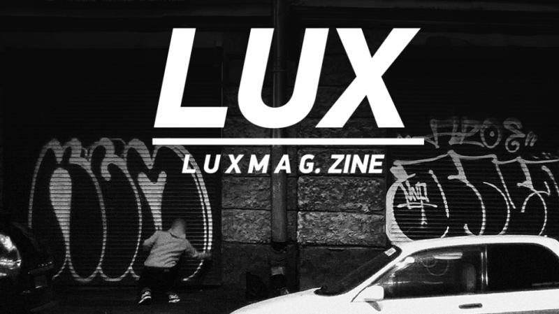 Graffiti_ LUX PRODUCTION presents - L U X M A G. zine