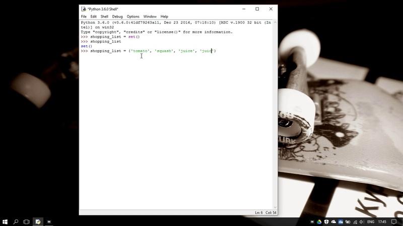 40. Множества set и frozenset в Python 3 - sets (Уроки Python) RU