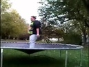 Fat Lady Breaks Trampoline