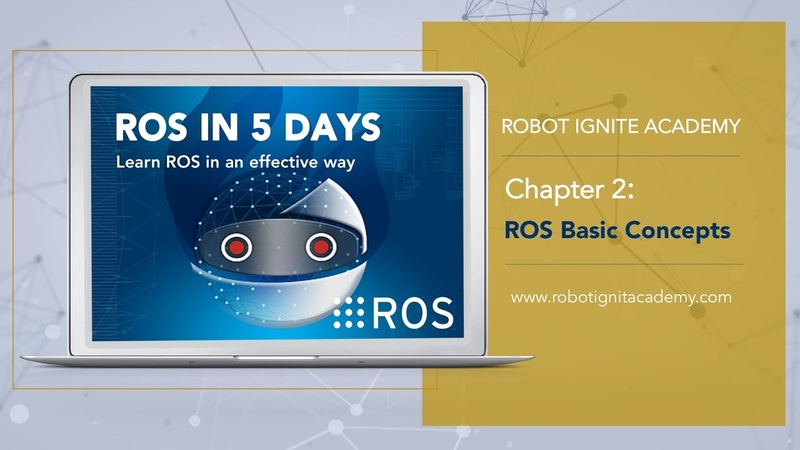 [ROS tutorial for beginners] Chapter 2. ROS Basic Concepts.