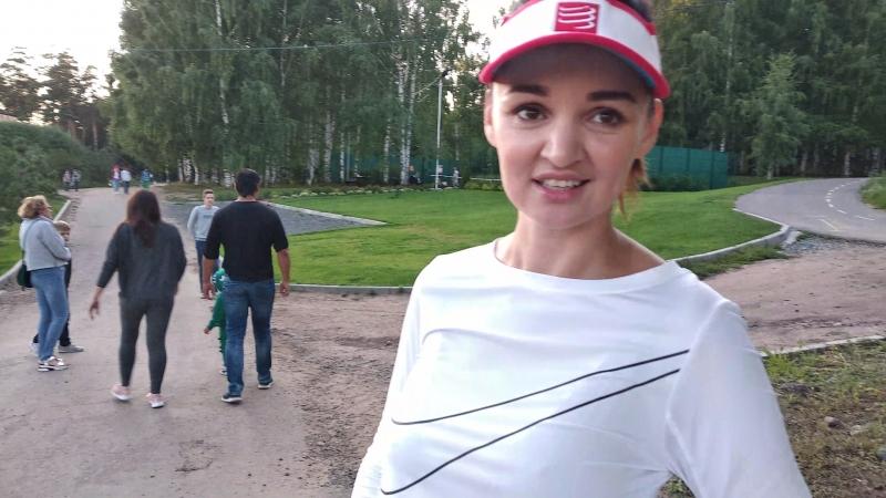 Эльвира Пинчук и Мила Сунцова поделились своими впечатлениями о скандинавской ходьбе