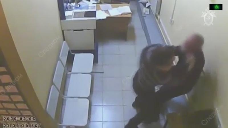 В полицейском участке видео поговорим