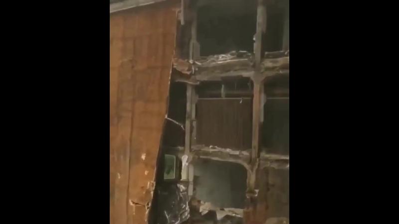 В здании бывшего мясокомбината произошел взрыв