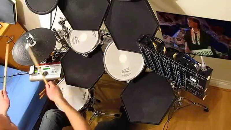 Sandra - (Ill Never Be) Maria Magdalena. DRUM COVER. 🎧 SIMMONS SDS 8 DRUMS.