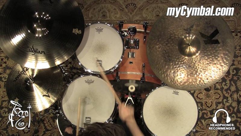 Zildjian 20 A Custom Projection Crash Cymbal - 2291g - Played by Shawn Zorn (A20581-1033016Z)