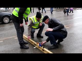 В Чебоксарах проверяют гарантийный асфальт проекта «Безопасные и качественные дороги»