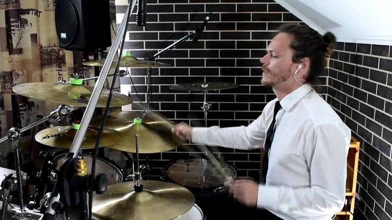 Pharell Williams - Happy | Drum cover | Krapivka Ilia