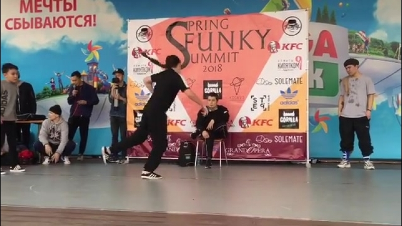 Break Dance Battle🔥 @ira gk 👏🏾👏🏾👏🏾 FINAL Battle springfunkysummit