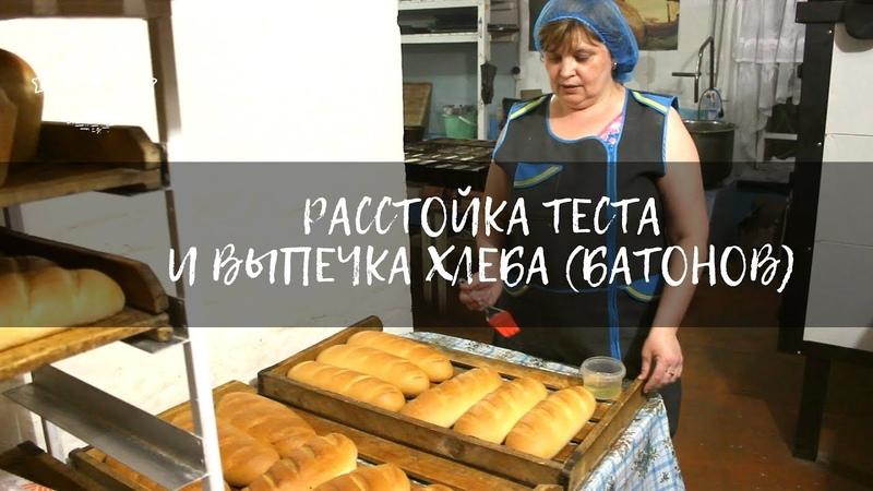 Расстойка теста и выпечка хлеба   Кулинарные рецепты   Кирилловская пекарня
