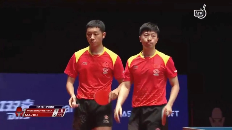Ma LongXu Xin vs Morizono MasatakaYuya Oshima | 2018 Bulgaria Open Highlights (Final)