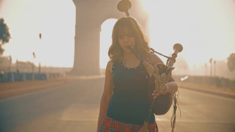 Shipping Up To Boston _ Enter Sandman - Bagpipe Cover (Goddesses of Bagpipe)