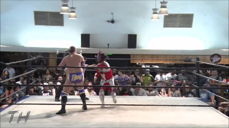 Jushin Liger vs Chris Hero Highlights HD Battle of Los Angeles 2016 Night One