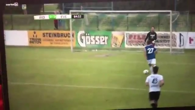 Último gol do Everton vs ATV Irdning
