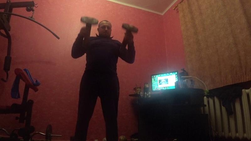 моя тренировка с булавами , для развития силы и боевых искусств .