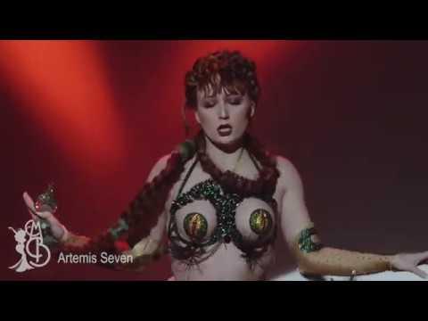 2018 Miss Burlesque Australia Grand Final - Artemis Seven - Traditional