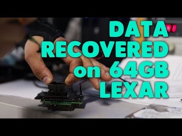 Data Recovery on Lexar 64GB Flash Drive | directly from memory chip
