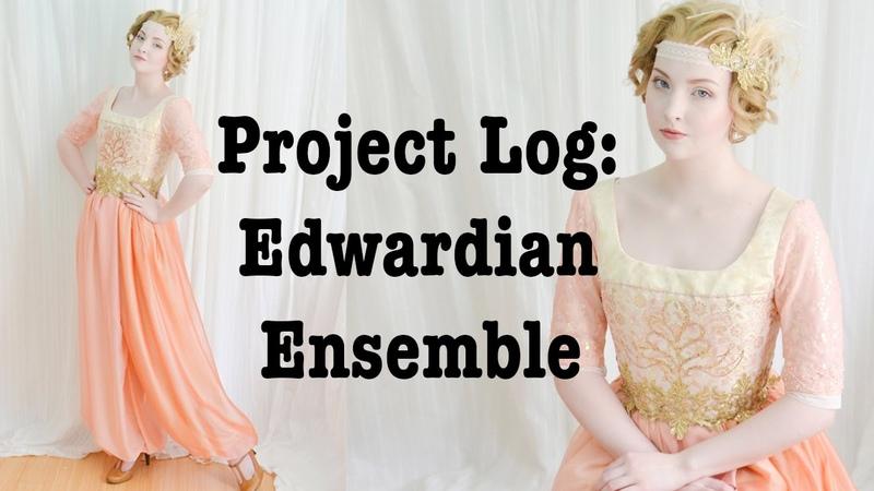 Project Vlog: Edwardian Harem Ensemble : Part Two