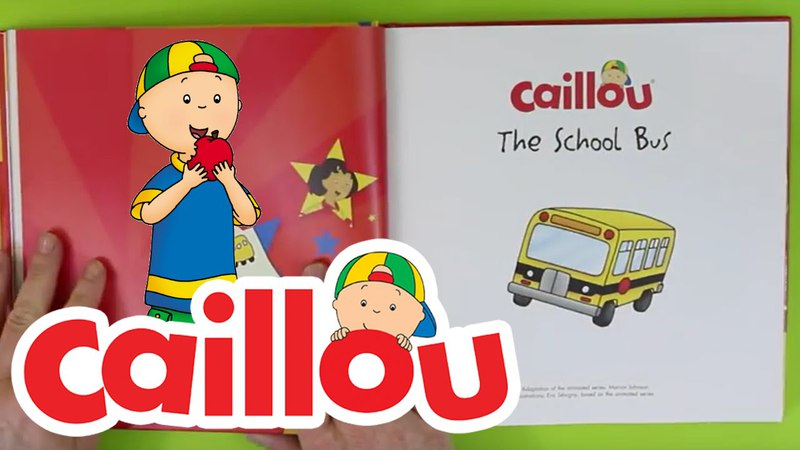 Caillou Books - The School Bus | Book Reading for Kids | Cartoon for Kids