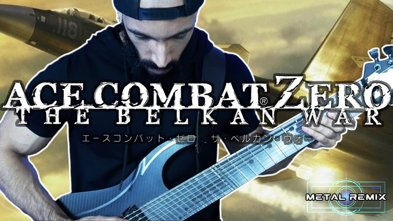 Ace Combat Zero Zero Metal Cover