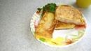 Быстрый завтрак или перекус Горячие бутерброды очень вкусненько