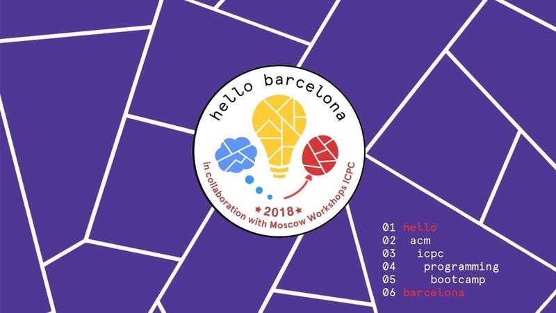 3rd Hello Barcelona ICPC Programming Bootcamp