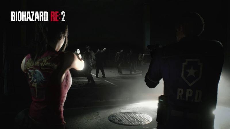 『バイオハザード RE:2』クラシック衣装紹介動画