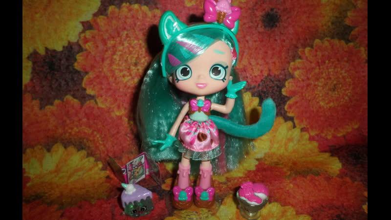 Обзор на куклу Шопкинс Пеппа Минт*Shopkins Shoppies Peppa Mint