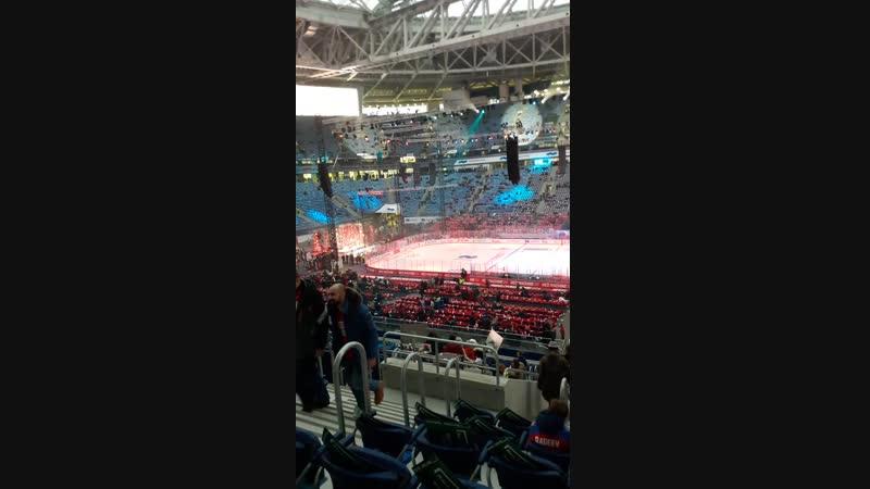 Перед матчем Россия-Финляндия (Хоккей)