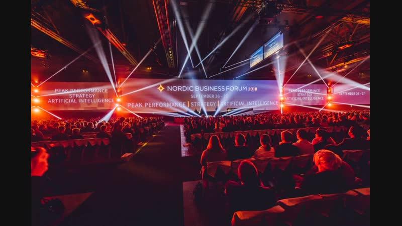 Марина Джаши - номинант конкурса спикеров Nordic Business Forum 2019 из России