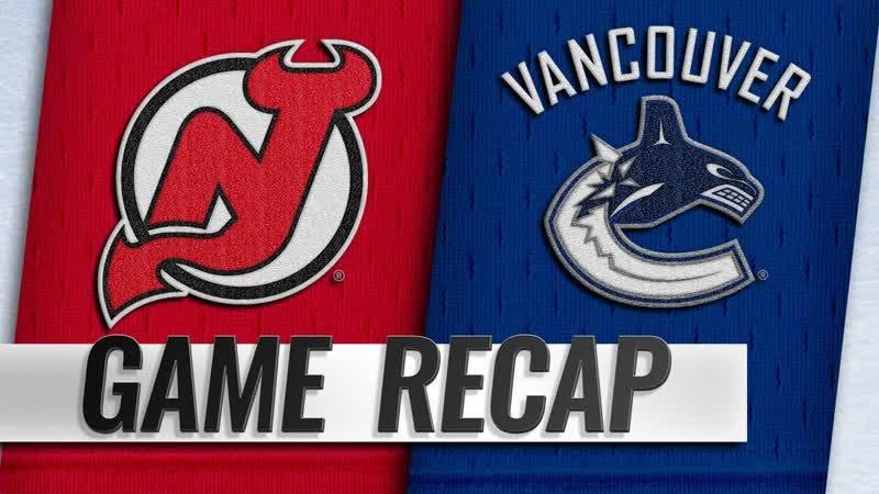 НХЛ - регулярный чемпионат. «Ванкувер Кэнакс» - «Нью-Джерси Дэвилз» - 2:3 Б (0:0, 1:0, 1:2, 0:0, 0:1)