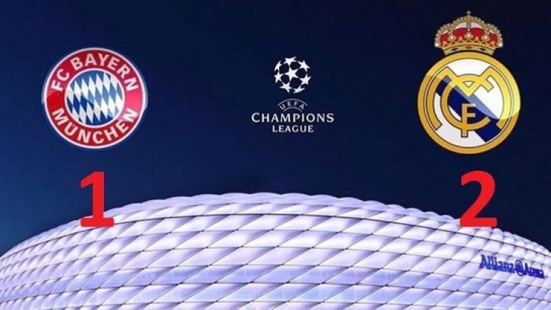 25.04.2018г. Бавария 1 - 2 Реал Обзор первого матча 1/2 Лиги чемпионов